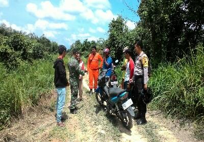 Selain patroli pemahan tentang bahaya Karhuta diberikan TNI pada warga.