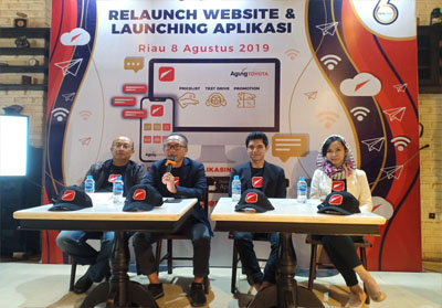 Re-Launchinga website Agung Toyota