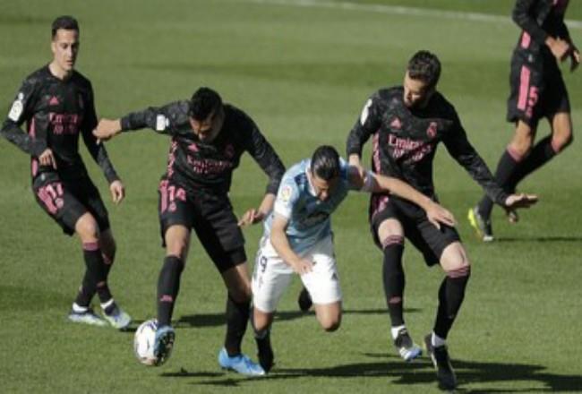 Madrid geser Barcelona di klasemen. Foto: CNNIndonesia