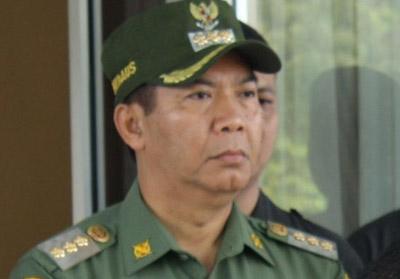 Walikota Pekanbaru, H Firdaus