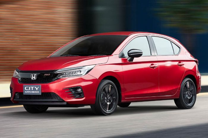 Ilustrasi Honda City Hatchback