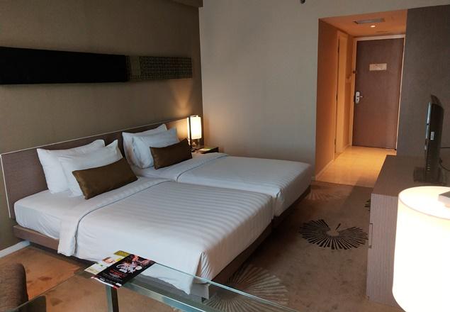 Fasilitas kamar di Premiere Hotel Pekanbaru