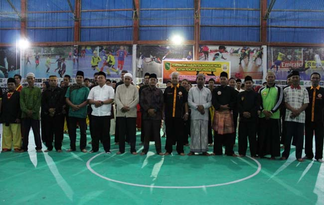 Burhan Said Ketua IPSI Inhil melantik Budi Saputra sebagai ketua IPSI Kateman periode 2020-2024.