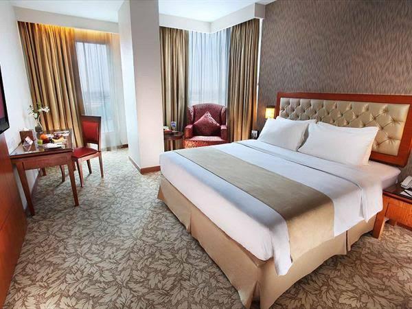 Salah satu kamar Swiss Belinn Hotel Pekanbaru.