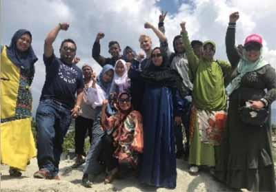 FPR dan APSI Riau di lokasi bencana gempa dan tsunami Sulawesi Tengah (Sulteng).