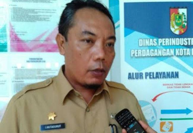 Kepala Dinas Perindustrian dan Perdagangan (Disperindag) Kota Pekanbaru, Ingot Ahmad Hutasuhut.