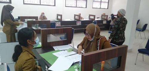 PPPK yang lolos seleksi 2019 teken kontrak kerja.