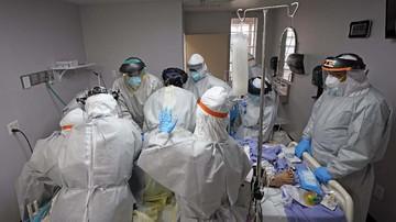 Coronavirus unit di rumah sakit Houston.FOTO: Cnn