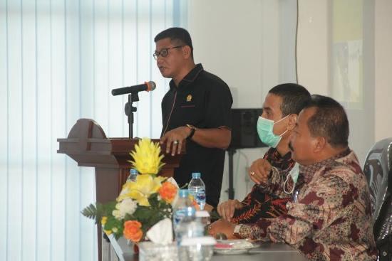 Kegiatan forum konsultasi publik pembahasan rancangan awal RPJMD 2021-2026.