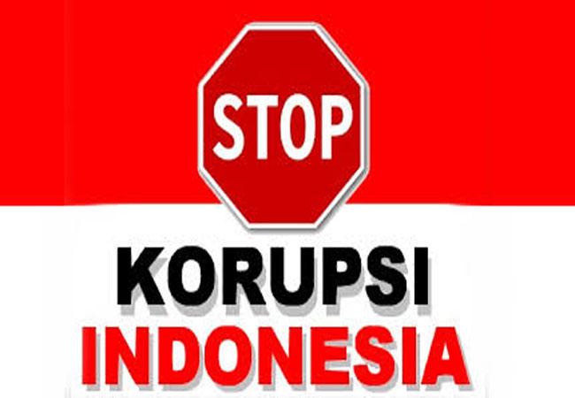 Stop Korupsi.