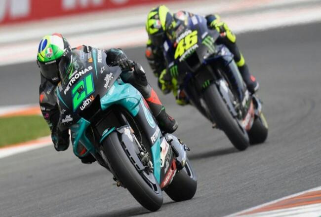Franco Morbidelli raih pole MotoGP Valencia 2020. Foto: Detik