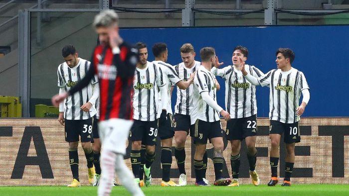 Juventus berhasil mengalahkan AC Milan 3-1 dalam lanjutan Liga Italia. (Foto: Getty Images/Marco Luzzani)