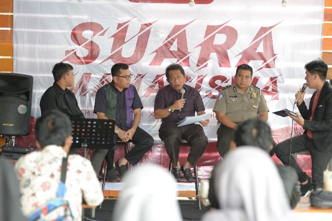 Talkshow Suara Mahasiswa. FOTO: Humas