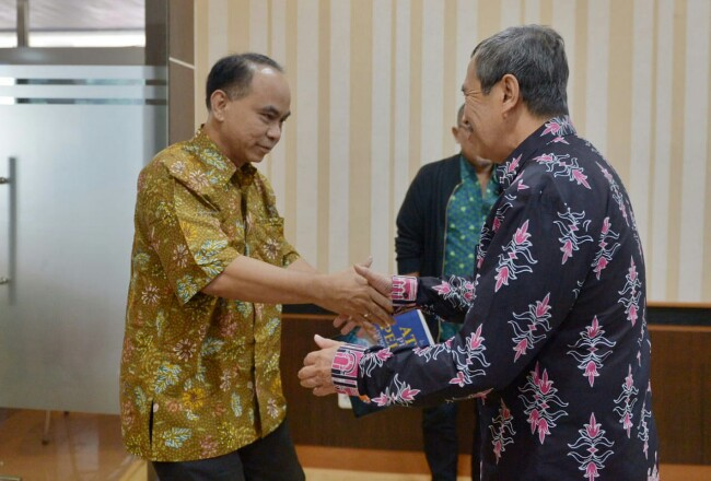 Gubri kunjungi Kementerian Desa PDTT di Jakarta.