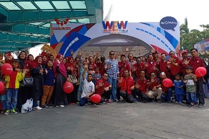 Wuling Experience Weekend (WEW) digelar di Mal Ska, Pekanbaru, Sabtu (7/9/2019).