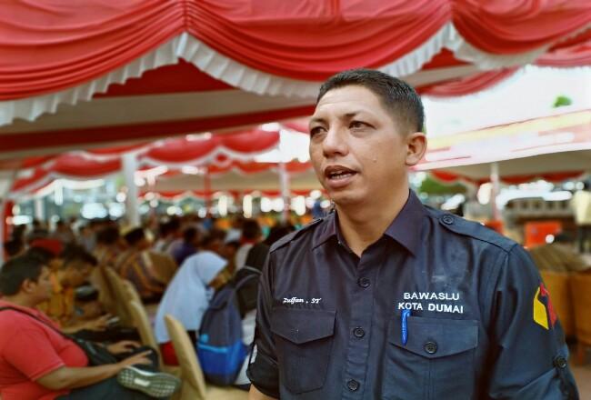 Ketua Bawaslu Dumai Zulfan ST