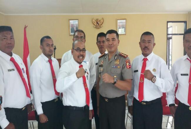 Kepala Satpol PP Kepulauan Meranti, Helfandi saat pembukaan Diklat PPNS pada bulan Maret 2020 di Mega Mendung.