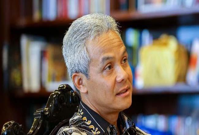 Gubernur Jateng Ganjar Pranowo.