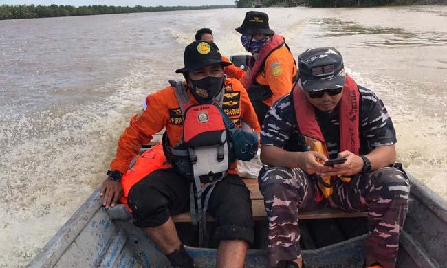 Tim SAR Gabungan lakukan pencarian korban, Rabu (15/7/2020).