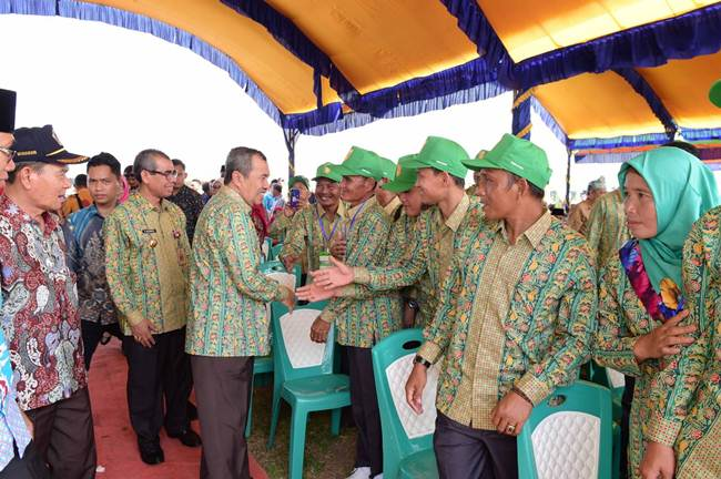 Gubri membuka pelaksanaan KTNA di Kuansing