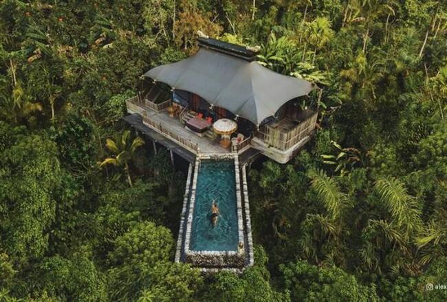 Capella Ubud, Bali.
