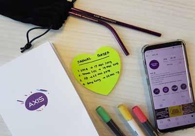 AXIS punya paket internet kuota sosial media Instagram.