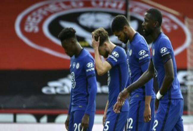 Chelsea menelan kekalahan telak di markas Sheffield United. Foto: CNNIndonesia