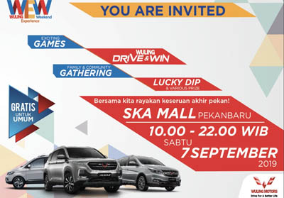 Wuling Experience Weekend