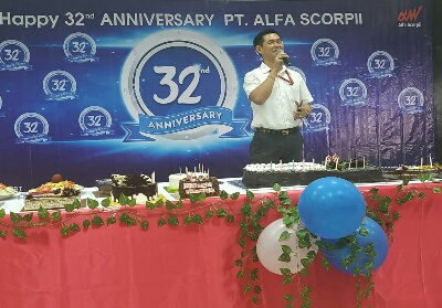 Chief Branch Officer PT Alfa Scorpii Indra Surya