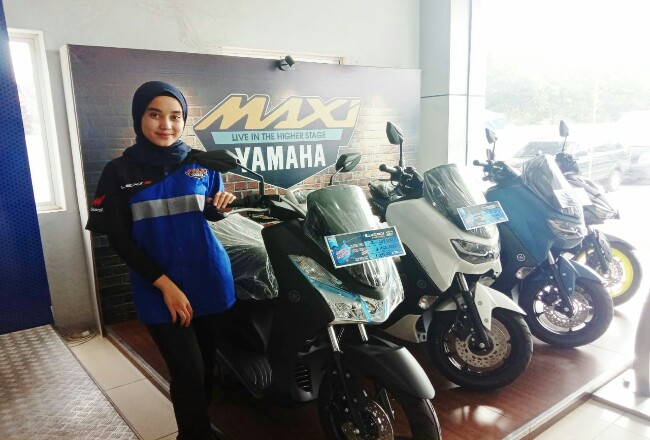 Promo sepesial untuk pembelian motor Yamaha Lexi di bulan September.