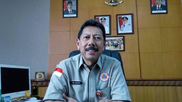 Kepala Badan Penanggulangan Bencana Daerah atau BPBD Provinsi Riau Edwar Sanger.