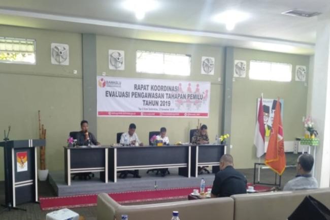 Rapat koordinasi evaluasi tahapan Pemilu tahun 2019