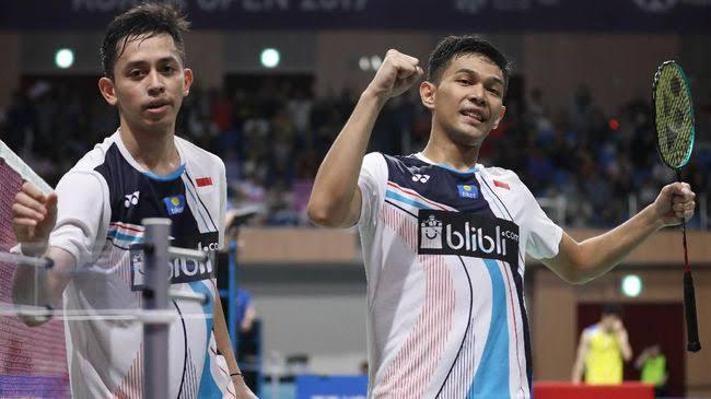 Tim ganda putra Indonesia, Fajar Alfian/Muhammad Rian Ardianto