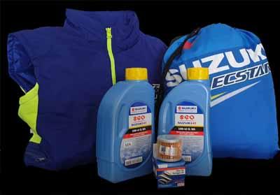 Suzuki Victory Campaign package.