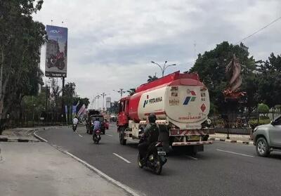 Kondisi terkini Kota Pekanbaru setelah bebas kabut asap karena instensitas hujan yang mengurangi titik panas.