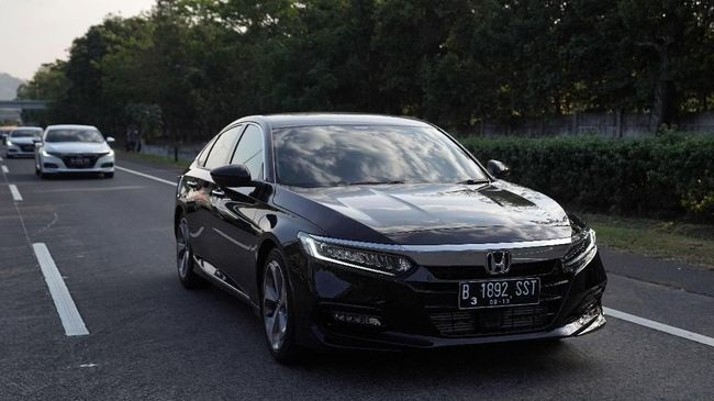 Honda Accord generasi kesepuluh. (Foto: Dok. Honda Prospect Motor)