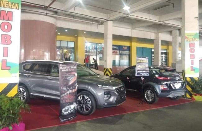 Pameran Hyundai di Plaza Citra Pekanbaru