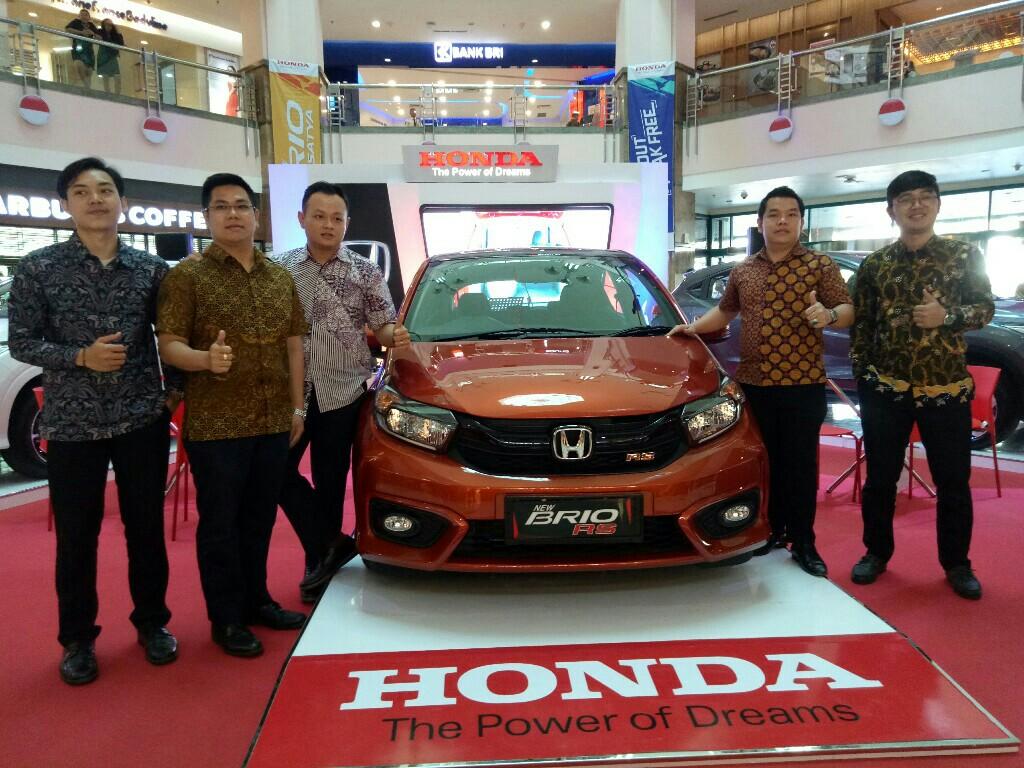 Honda All New Brio hadir di Mal Ska Pekanbaru