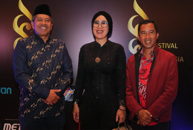 Bupati Siak Alfedri menghadiri Malam Anugerah Festival Film Indonesia (FFI) 2019