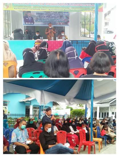 Anggota DPRD Kota Pekanbaru Aidil Amri menerima sejumlah aspirasi masyarakat saat reses.