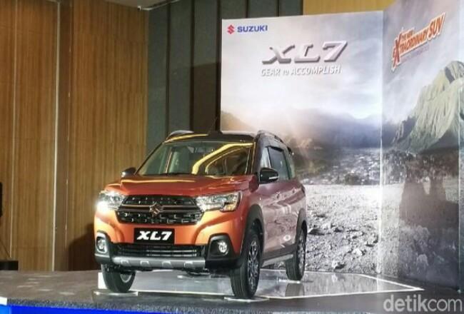 Suzuki XL7 meluncur di Jakarta hari ini.