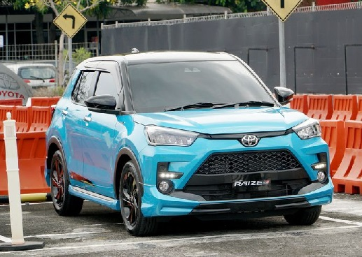 Toyota Raize 1.200 cc