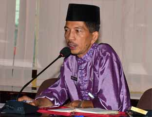 elaksana Tugas (Plt) Kepala Dinas Komunikasi, Informatika dan Statistik (Diskominfotik) Kabupaten Bengkalis, Johansyah Syafri