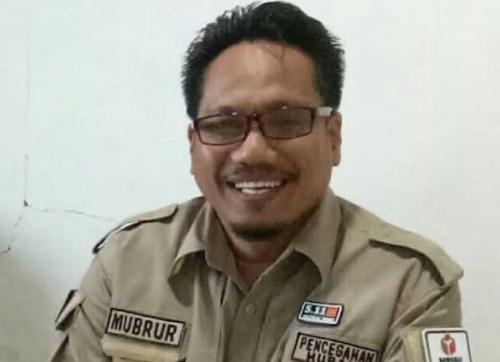Ketua Bawaslu Kabupaten Pelalawan, Mubrur.