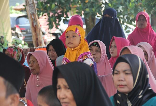 LAZNas Chevron resmikan Sarana Air Bersih ke -40 di RT 05/ RW 02 Kelurahan Minas Jaya.