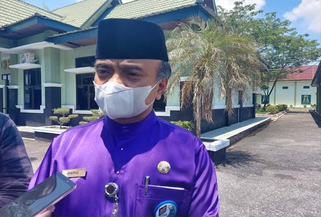 Juru bicara Satgas Covid-19 Kota Dumai dr Syaipul.