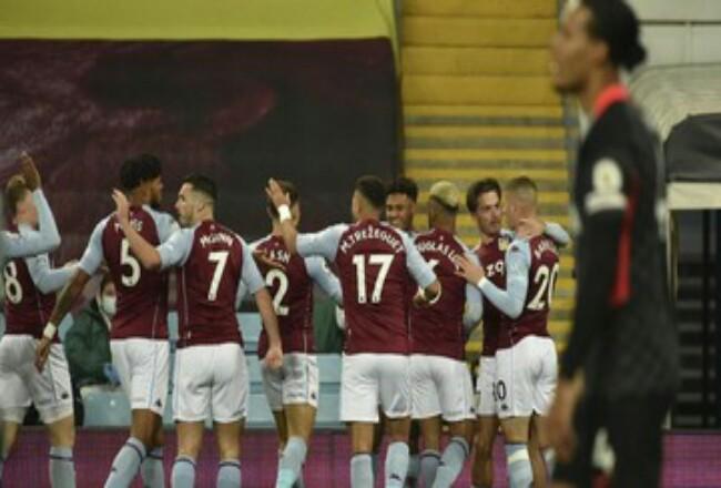 Aston Villa pecundangi Liverpool 7-2. Foto: CNNIndonesia