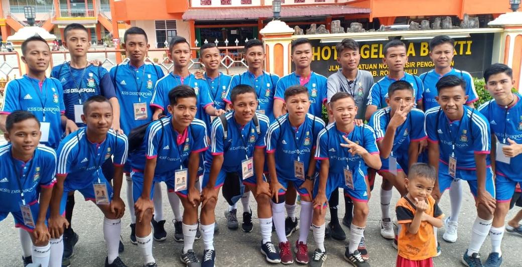 Tim sepakbola Kuansing Soccer School (KSS).