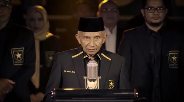 Ketua Majelis Syuro Partai Ummat Amien Rais