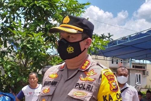 Kapolresta Pekanbaru Kombes Pol Nandang Mu
